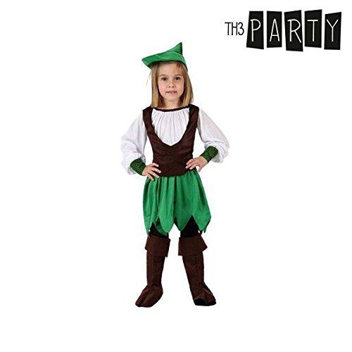 Verkleidung für Kinder Th3 Party Mädchen aus dem wald