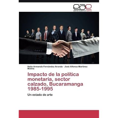Impacto de la política monetaria, sector calzado, Bucaramanga 1985-1995: Un estado de (Helios Arte)