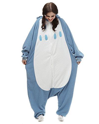 Tier Onesie Kostüme Kigurumi Eule Pyjama Schlafanzug Erwachsene Unisex Mann Dame Cosplay Jumpsuit Onesie (Tier Faultier Kostüme)