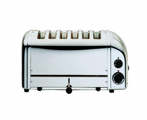 DUALIT Vario Toaster - 6 Scheiben Toaster poliert