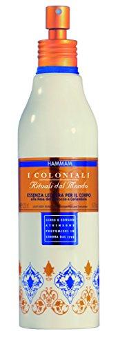 Hammam von I Coloniali - leichte Essenz für den Körper mit Marokkanischer Rose und Koriander 200 ml