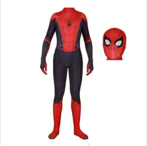 Spiderman Kostüm Design Szene - HAOLIN Spiderman Jumpsuit 3D Spandex