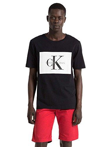 Calvin klein t-shirt hombre xxl black j30j307427-099-txxl