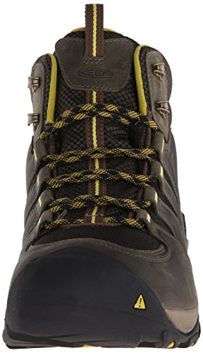 Keen Mens Gypsum II Mid WP Stiefel FOREST NIGHT/WARM OLIVE