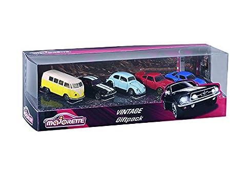 Majorette, 212052013, Vehicule Miniature, Vintage Giftpack 5 Pièces, Echelle 1/64 ème