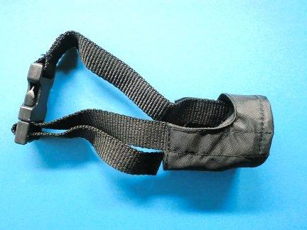 Artikelbild: Maulschlaufe aus Nylon für kleine Hunde 13 cm Nasenband