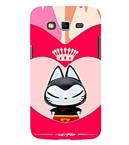 EPICCASE Royal kitty Mobile Back Case Cover For Samsung Galaxy Grand Max (Designer Case)