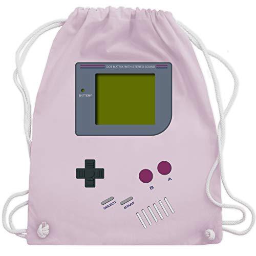 Nerds & Geeks - Gameboy - Unisize - Pastell Rosa - WM110 - Turnbeutel & Gym Bag
