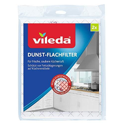 Vileda Dunst-Flachfilter Universalformat, 2er Pack