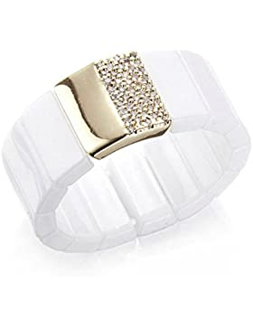 Silvity Damen Keramik-Ring Zugband 503906-P-20
