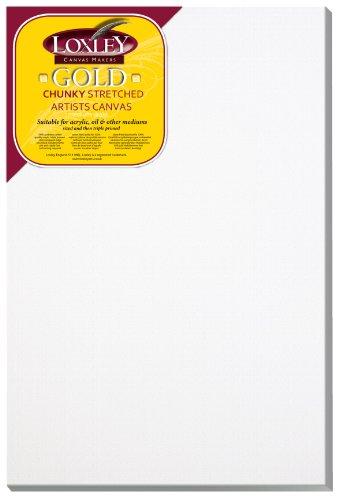 Loxley Gold LCC-3020 - Lienzo preestirado, color blanco
