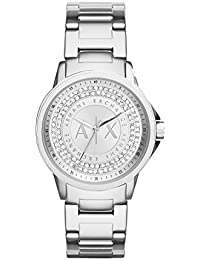 Armani Exchange Lady Banks Analog Silver Dial Women's Watch - AX4320