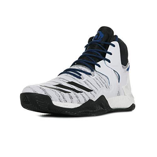 on sale f1a8c 12b21 adidas D Rose 7 Primeknit, Zapatillas de Baloncesto para Hombre, Blanco  (Ftwbla