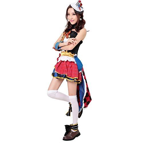 Gaosheng Cosplay Kostüm LoveLive Nozomi Suit Bunt für Cosplay Party