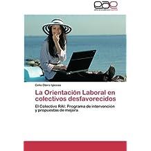 La Orientación Laboral en colectivos desfavorecidos: El Colectivo RAI: Programa de intervención y propuestas de mejora
