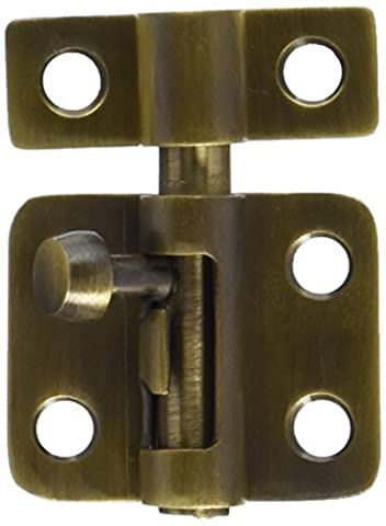 Deltana 2SBCS003 Hd Concealed Screw Solid Brass 2-Inch Surface Bolt