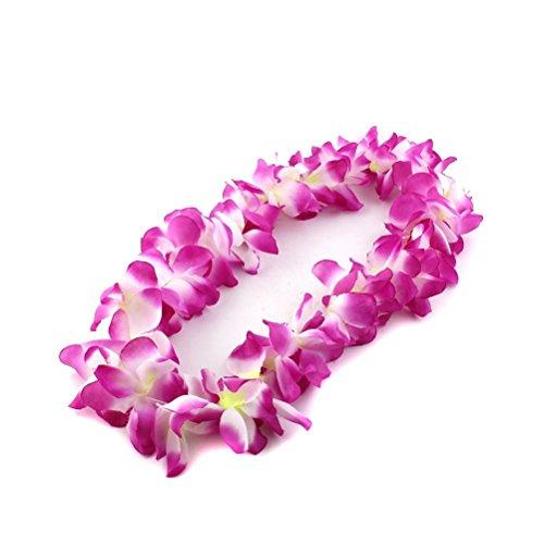 (Pixnor Hawaii Tropical Flower Leis Blume Halskette Girlande)
