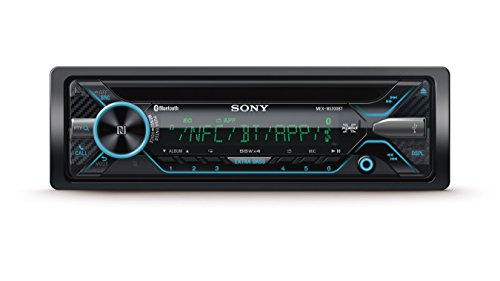 Sony mexn520 0bt auto Radio con Dual Bluetooth (lettore CD, NFC, 2 X Bluetooth, USB/AUX, Apple iPod/iPhone Control, 4 X 55 Watt, e microfono esterno, 35.000 colori) Nero/illuminazione: Multi - color