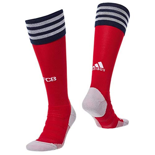 adidas 18/19 FC Bayern Home Socken, FCB True red/White/Collegiate Navy, 43-45