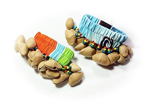 Hejoka-Shop 2 STÜCK Indianer Rassel Fußrassel Armband