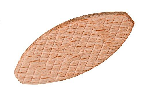 Flachdübel | Verbindungsplättchen Buche Sortiment je 100 Stk. Größe 0 | 10 | 20
