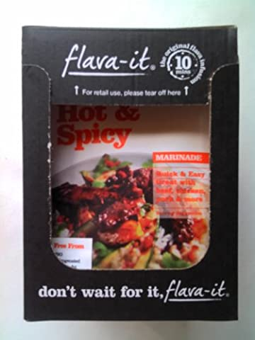 Flava It Hot & Spicy 12 x 45gm