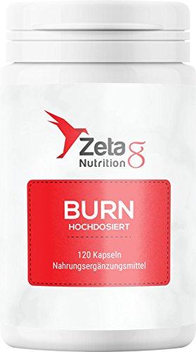 Zeta8 BURN | Premium | Stoffwechsel | Made in Germany | 120 Kapseln