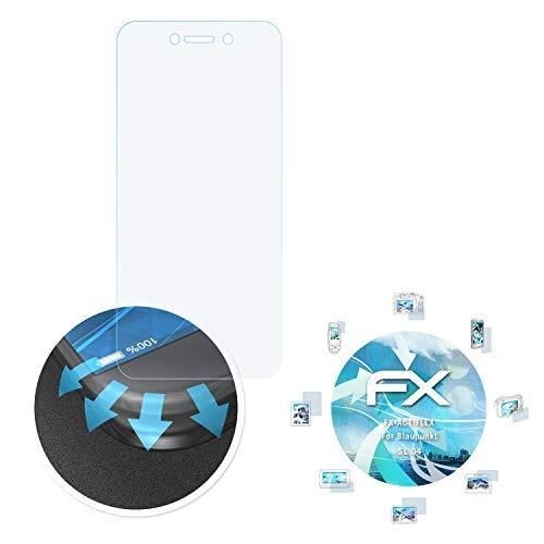 atFolix Schutzfolie passend für Blaupunkt SL 04 Folie, ultraklare & Flexible FX Bildschirmschutzfolie (3X)