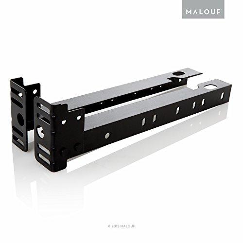 Strukturen von Malouf® Set von 2Trittbrett Verlängerung Klammern Befestigung-Kit, twin-king (Metall-trittbrett-set)