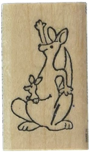 Briefmarken von Eindruck ST 0315Känguru Gummi Stempel