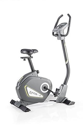 Kettler Heimtrainer Fahrrad AXOS Cycle P-LA - Farbe: Grau - das ideale Hometrainer Fahrrad - Artikelnummer: