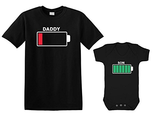battery-full-and-battery-low-father-and-son-matching-t-shirt-bodysuit-sets-black-mens-x-large-baby-3