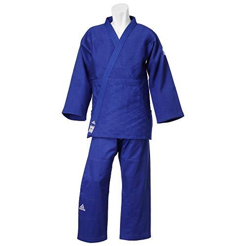 Adidas judogi champion ii ijf unisex blu misura 170cm–170