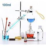 100ml-2000ml Laboratorio Esencial Aceite Agua Destilador Aparato Cristalería
