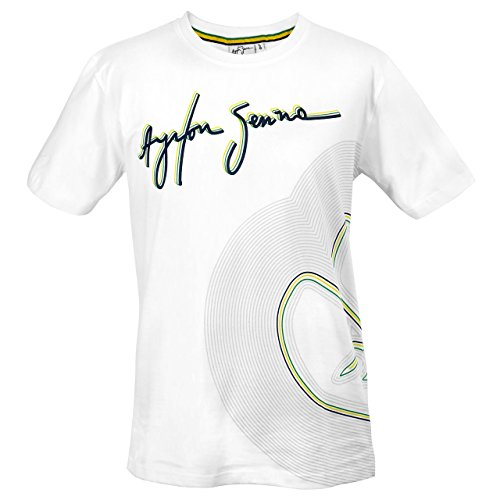Formel-line (Ayrton Senna T-Shirt Track Lines)