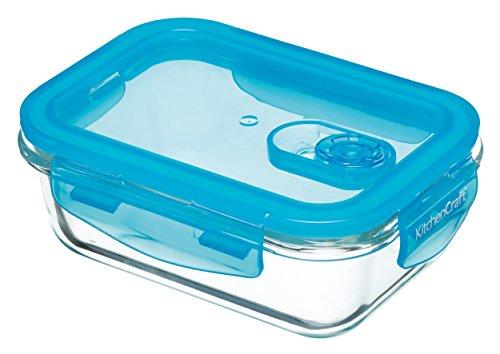 Kitchen Craft Pure Seal - Fiambrera de Cristal