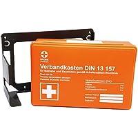 Premium-Verbandskasten-Wandhalterung, Betriebs Verbandskasten DIN 13157, Erst Hilfe Koffer, Rot Kreuz Koffer,... preisvergleich bei billige-tabletten.eu