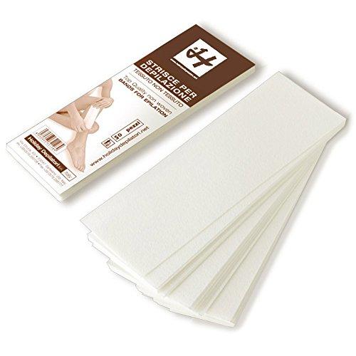 Vliesstreifen Weiß 19,5 cm x 7 cm, 50 St.