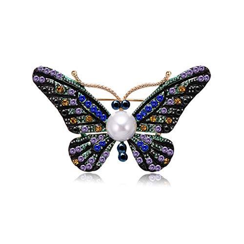 Longsw Brosche Schmetterling Vintage Schmuck Damen Kostüm Insecte Geschenke Antike ()