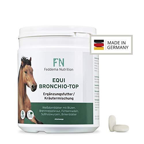 Feddema Equi Bronchio-Top - Pferde-Ergänzungsfutter für Bronchien und Atemwege mit Fichtennadel, Süßholz und Birke