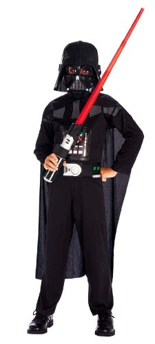 HARRY POTTER Star Wars Darth Vader Kostüm für Kinder (Harry Potter Kostüm Ohne Robe)