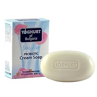 Biofresh Yoghurt of Bulgaria Probiotic Natural Soap with Rose oil, 100gr