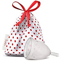 LadyCupCoupe menstruelle transparente Taille L 46mm