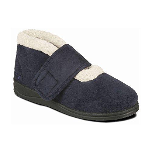 scarpa Padders donne scarpe 'Silent'   scarpe stivali   Extra Large larghezza EE   30 millimetri tallone   calzascarpe libero Marina Militare