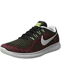 Nike - Free RN 2 Black/Hot Punch - Sneakers Hombre