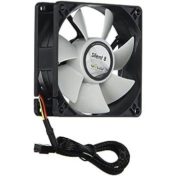 Gelid Silent 8 80mm x 80mm x 25mm 3Pin 1600RPM Fan