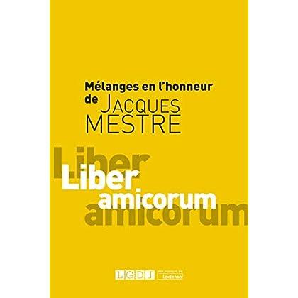 Mélanges en l'honneur de Jacques Mestre