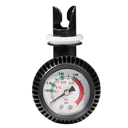 Ahomi Air Manometer 5 PSI Thermometer-Anschluss für Schlauchboot-Kajak