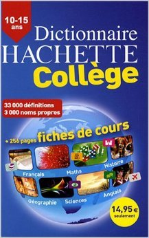 Dictionnaire Hachette Collège : 10-15 ans de Carola Strang,Emmanuelle Bruley,Béatrice Lebeau ( 14 mars 2008 )
