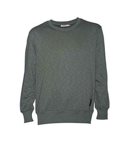 whyred-herren-pullover-sweater-strickpullover-baumwolle-grun-crape-leaf-325-xl